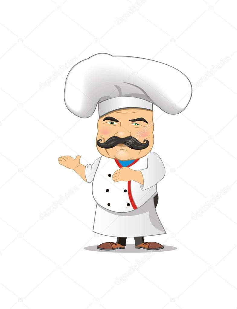 illustration vectorielle chef de cuisine des poses diff rentes jeux animation image. Black Bedroom Furniture Sets. Home Design Ideas