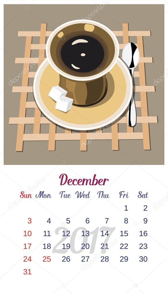 Kalender Guten Morgen Stockvektor 64samcorpgmailcom