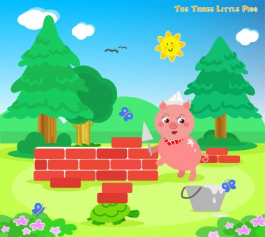The three little pigs 7: the bricks house