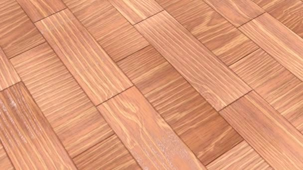 Varnished English oak flooring, textured background of wooden laminate, parquet flooring. 3D-rendering