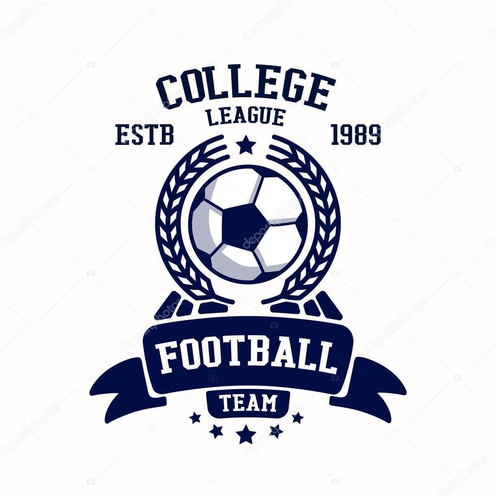 Soccer Club Emblem Template U2014 Stock Vector