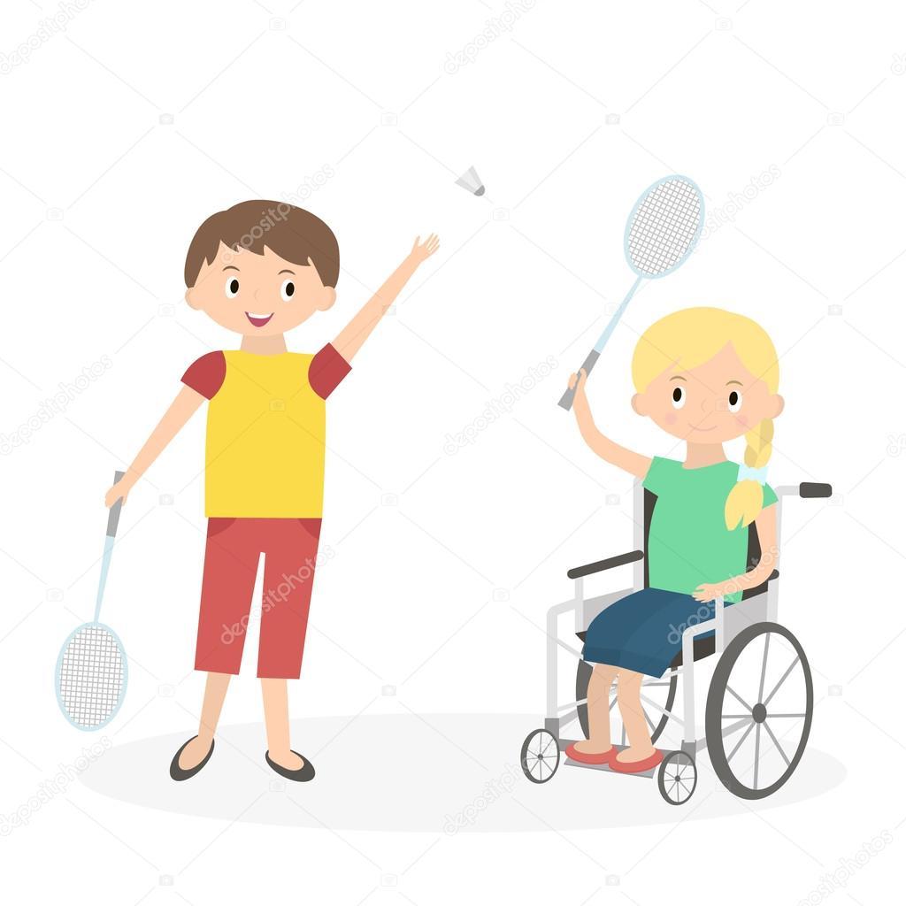Картинки дети помогают инвалидам
