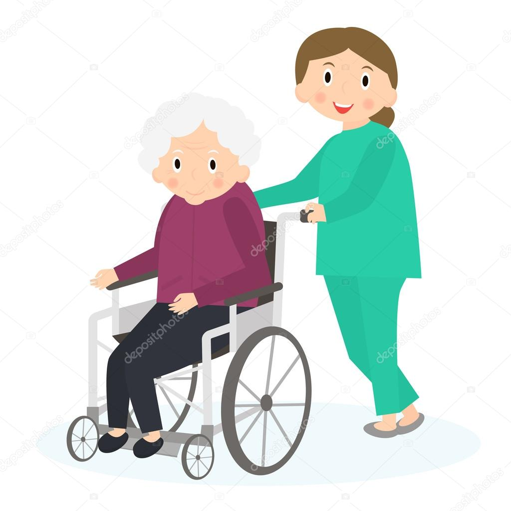 disabled old woman handicapped senior woman in a old lady clipart cane glasses crazy old lady clipart