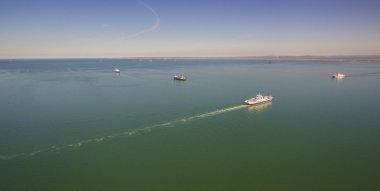 Ferry . Kerch Strait. Russia