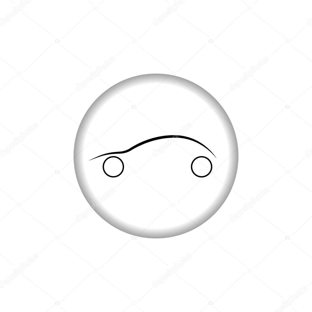 Car logo. Automobile sign