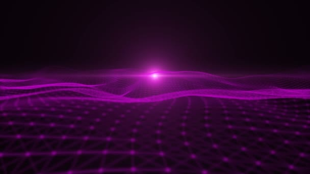Purple particle dimension