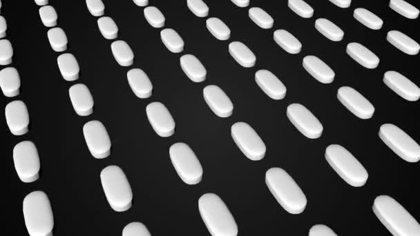Farmaceutické tablety pohyblivé pozadí