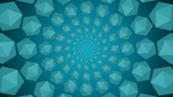 Modré pozadí reflexní lesk lehké částice