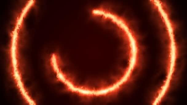 Krásný Ring of Fire smyčce