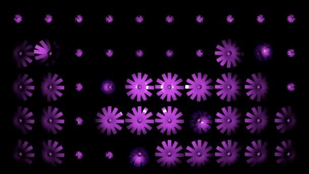 szép rózsaszín virágokkal