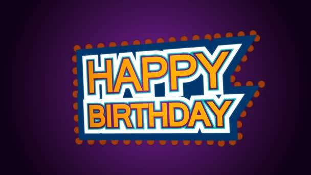 Alles Gute zum Geburtstag 3D-Animation