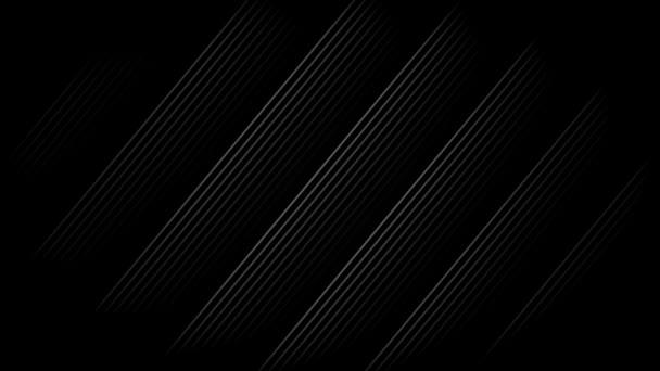 Bílý diagonální pruhy s černým pozadím. Bezešvá smyčka