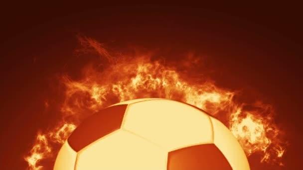 Animaci realistické fotbalový míč
