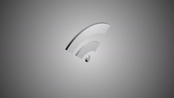 Wi-Fi Netzwerk Symbol animation
