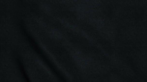 Seamless loop con altamente dettagliate texture tessuto nero