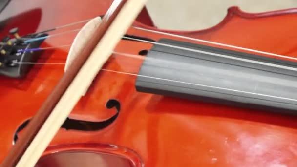Detail hudebníka, hrajícího na housle, Klasická hudba