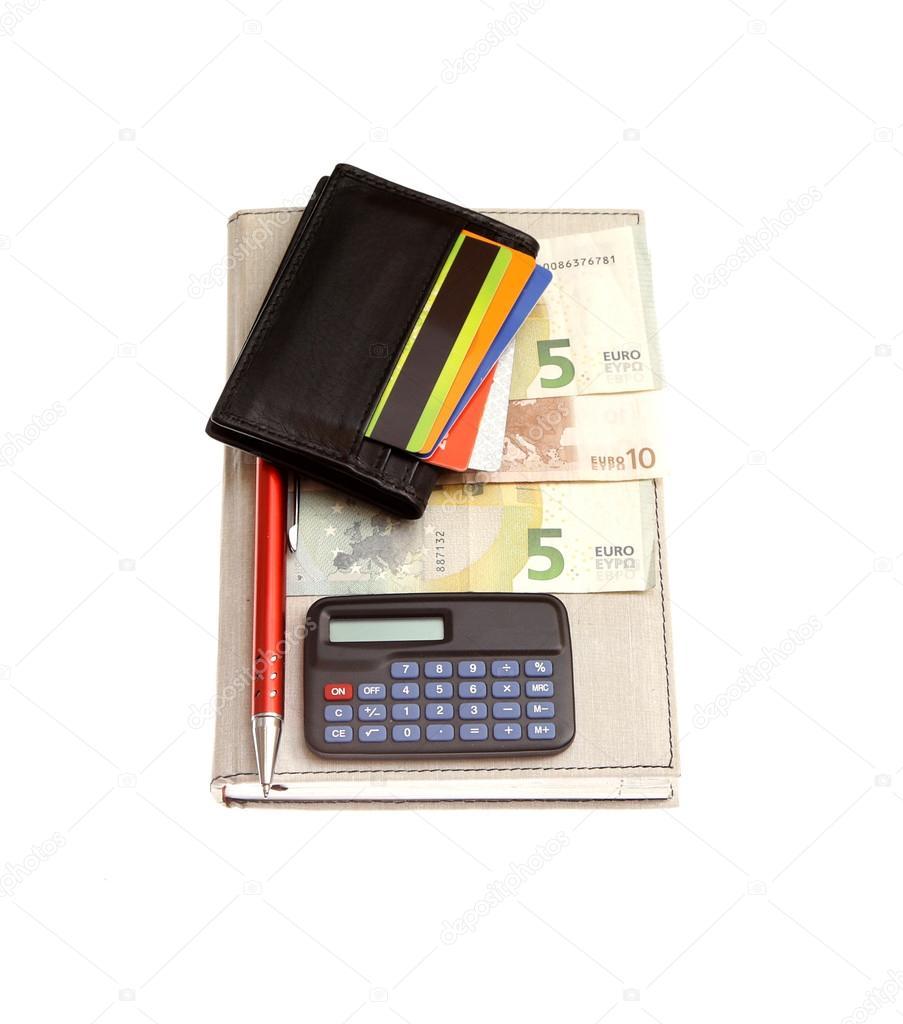 Portemonnee 5 Euro.Portemonnee Cradit Kaarten Euro Stockfoto C Renars Amgriga Lv
