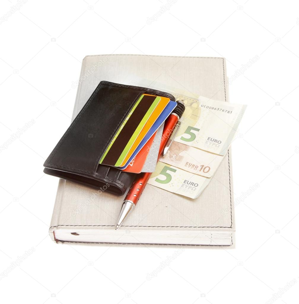 Portemonnee 10 Euro.Portemonnee Creditcards Euro Stockfoto C Renars Amgriga Lv 111380692