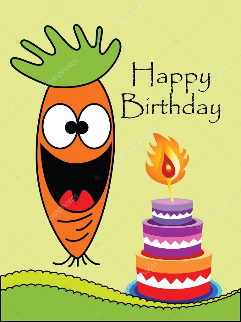 roliga födelsedagskort Vector rolig födelsedagskort — Stock Vektor © pirayesh #110843494 roliga födelsedagskort