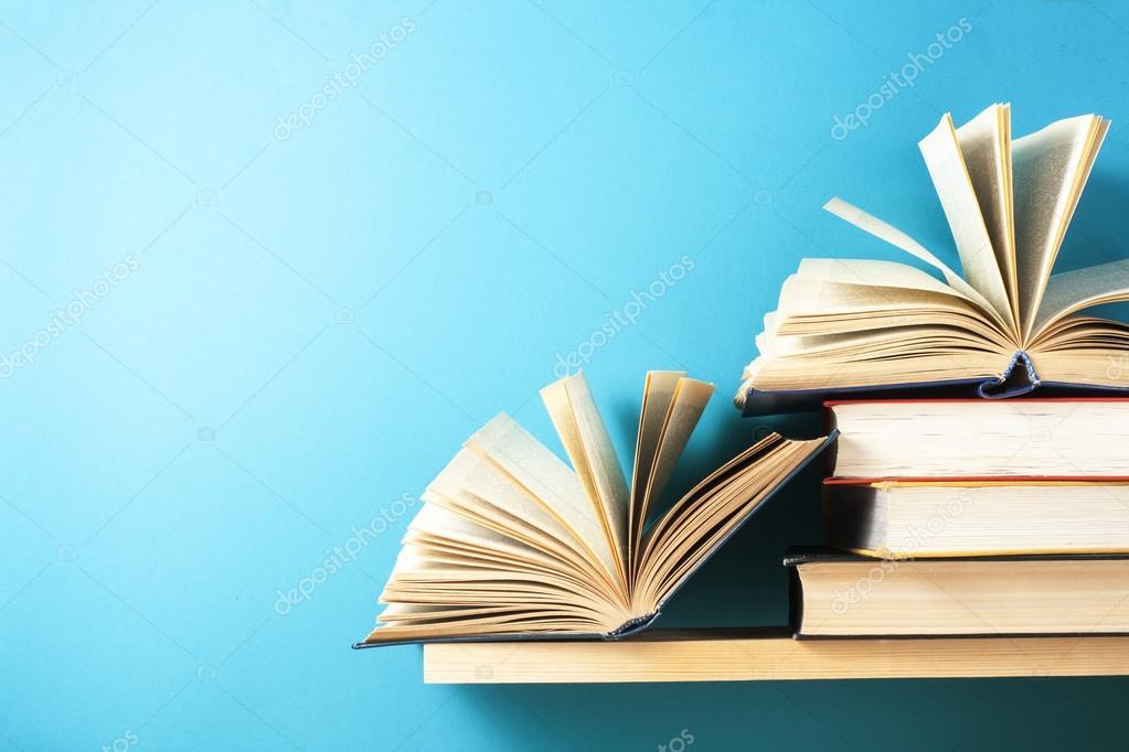 Libro Abierto, Libros De Tapa Dura