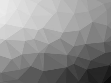Abstract geometric polygon