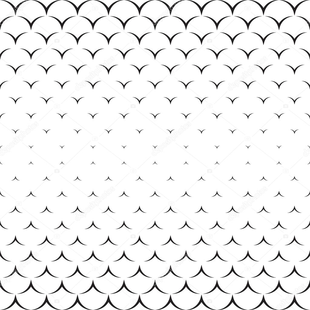 Textura monocromática. Ilustración abstracta sin fin. Patrón ...