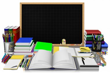 Blackboard stationery for schools and offices 002