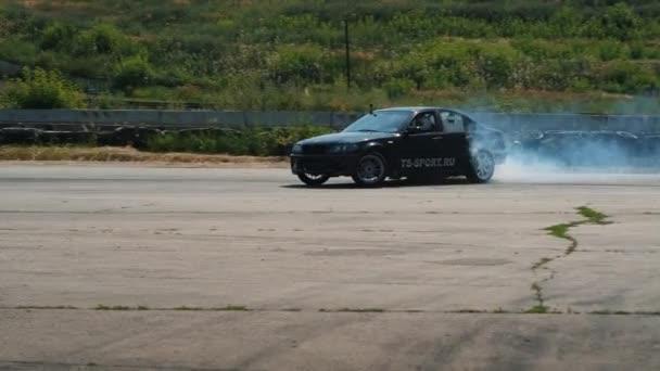 BMW drifting car na šampionátu