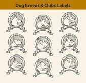 Nastavení štítků plemena psů