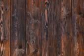 Priorità bassa di legno, marrone a strisce scrivania di legno, vecchio tavolo o sul pavimento