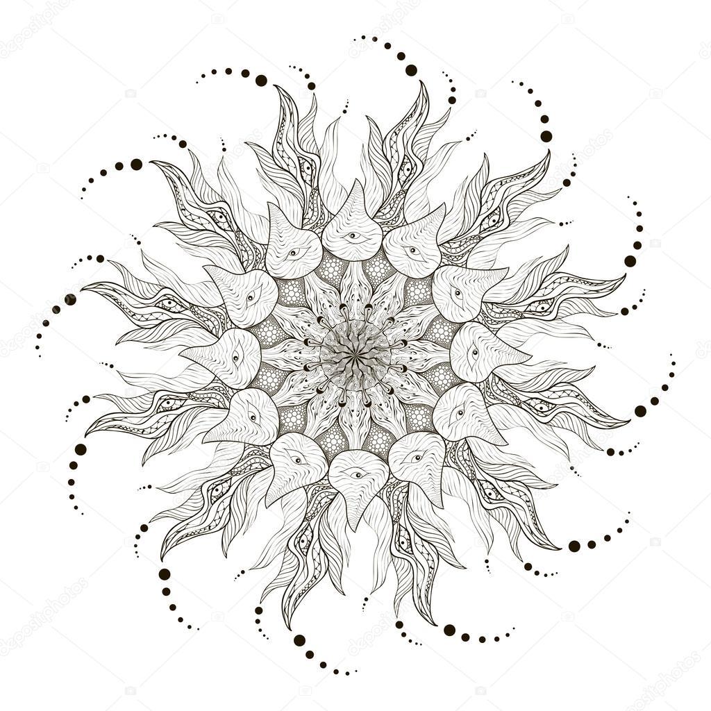 Mandala Vector Mandala Art Mandala Design Mandala Pattern