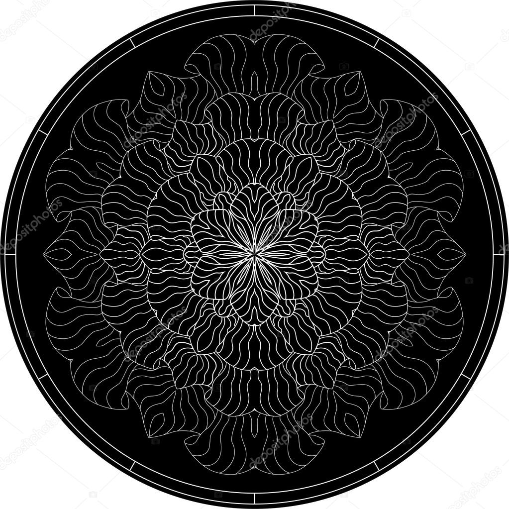 Color Mandala Tattoo Black Mandala For Coloring Mandala
