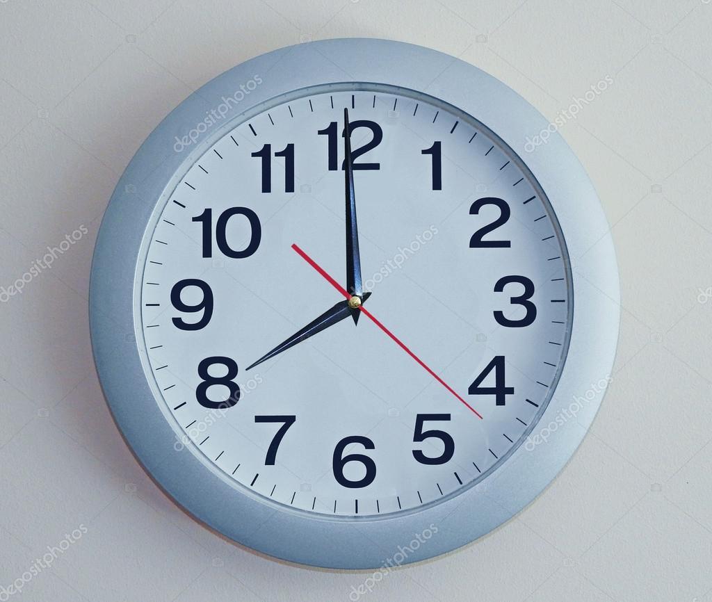 Синій настінні годинники — Стокове фото — цифри © FreedomMaster ... ffb6400846c92