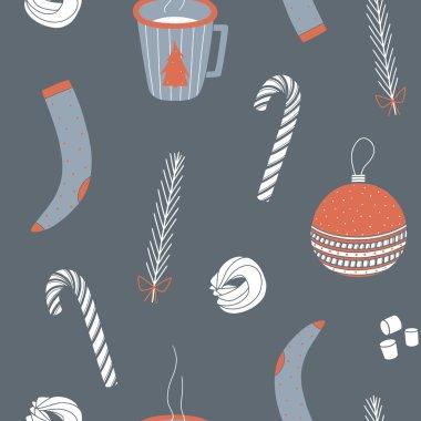 Christmas seamless pattern