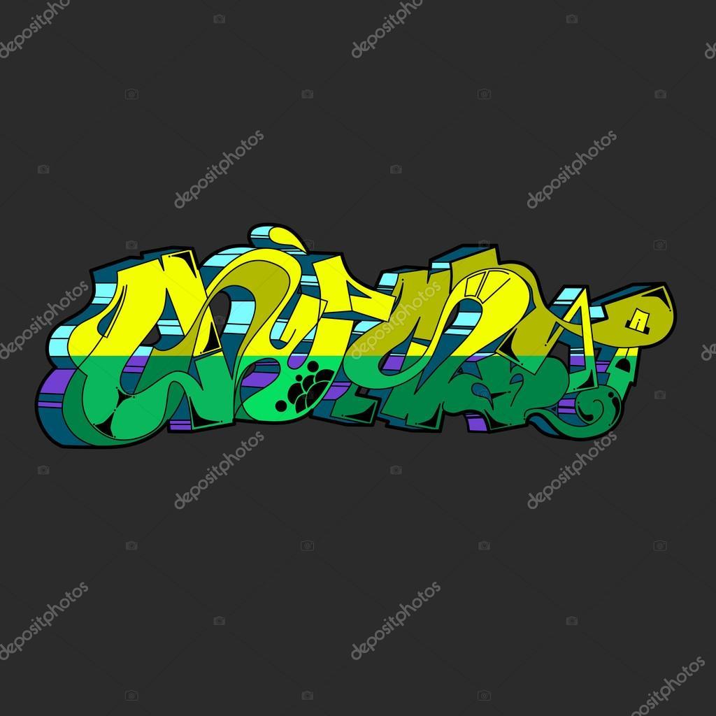 Graffiti vector urban art stock vector 114593432