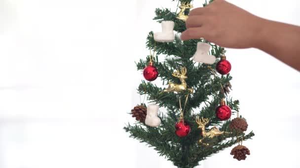 Vánoční stromek s kopírovacím prostorem, prostor pro text. Vánoční náladu. Veselé Vánoce koncepce
