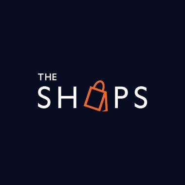 Modern and elegant shopping bag logo design 4 icon