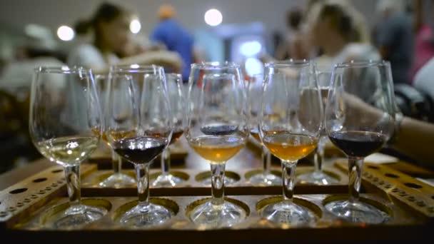 ochutnávka vín. Různé Archivní vína lahvová sklenice pro profesionální degustace