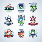 Fényképek Soccer logo. Football logo
