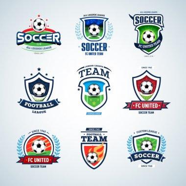 Soccer logo. Football logo