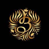 Butik luxus Vintage logo.