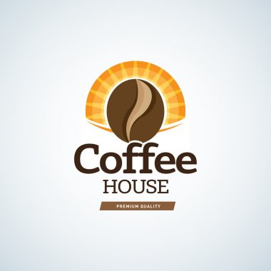 Coffee logo template