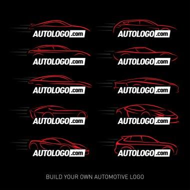 Car logotypes Silhouette