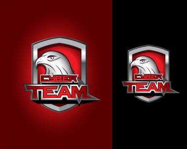 Cyber team logo templates