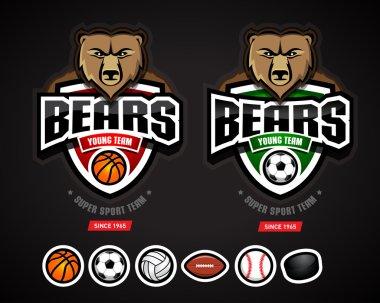 Bear Sport Logos