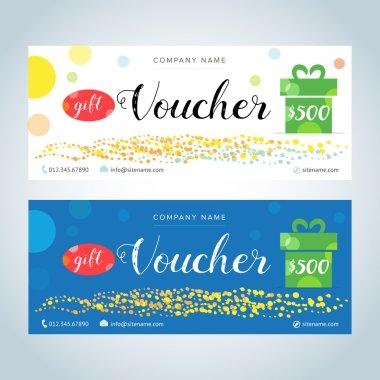 Gift Vouchers, Gift certificates
