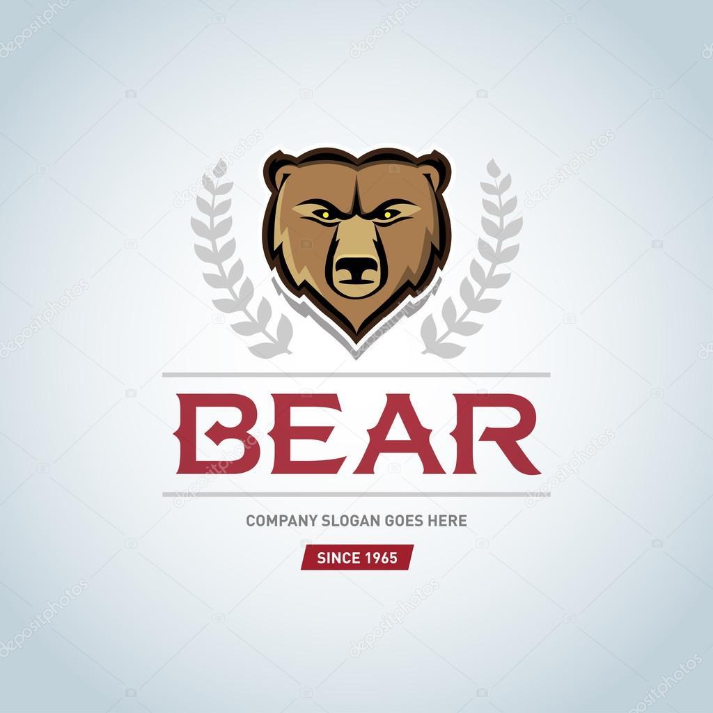 熊のロゴのテンプレート ストックベクター ideasign 110763130