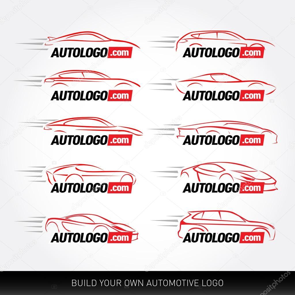 Logotipi auto - servizio auto e riparazione