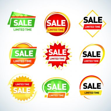 Sale limited time - advertisement banners