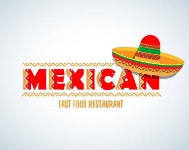 Mexican sombrero hat symbol
